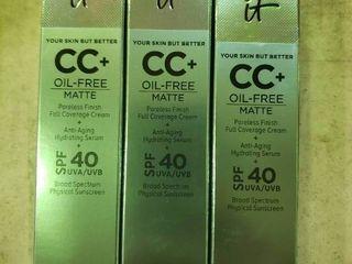 CC  Cream Oil Free Matte with SPF 40