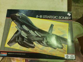 B 1B Strategic Bomber Model Plane