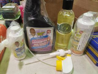lot of Microzyme Cleaning Products