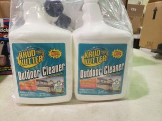lot of 2 Bottles of Krud Kutter Outdoor Cleaner