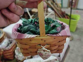 longaberger Handwoven Basket