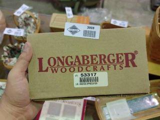 longaberger Woodcrafts lid