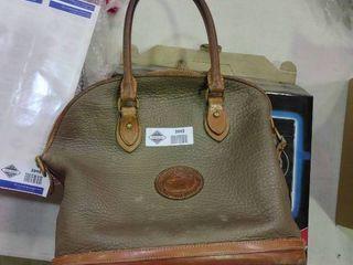 Olive and Tan Dooney and Bourke Handbag