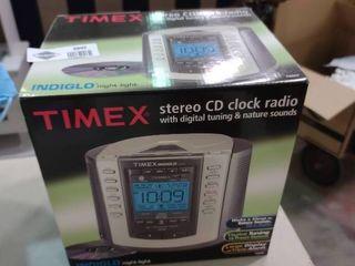 Timex Stereo CD Clock Radio