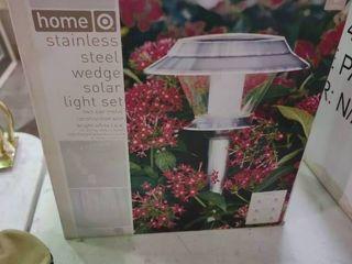 Stainless Steel Solar light Set