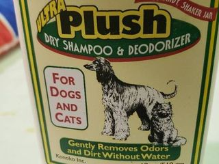 Ultra Plush Dry Shampoo and Conditioner For Dogs and Cats