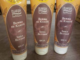 lot of 3 Tubes of Burro Di Karite Shea Butter