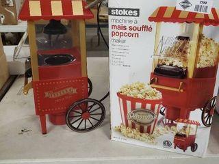 Stoke Popcorn Machine