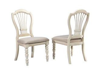 Hillsdale Furniture Pine Island Wheat Back Side Chair  Set of 2
