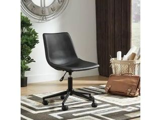 Casual Black Home Office Swivel Desk Chair