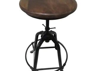 16 inch Wide Bar Stool with Adjustable Height