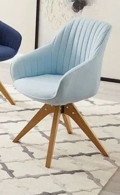 Art leon Classical Swivel Office Accent Arm Chair with Wood legs