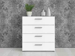 Porch   Den Angus Contemporary 4 drawer Engineered Wood Chest