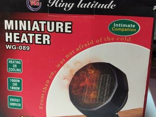 Hing latitude miniature heater  WG 089