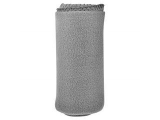 Cozy 50 X 60 Fleece Throw Blanket  Gray