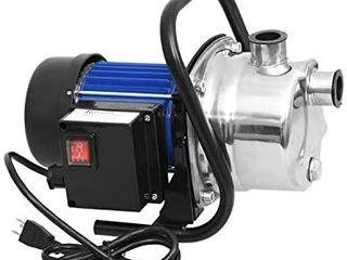 1 6 HP Stainless Steel lawn Sprinkling Pump Electric Water Pump Transfer Pump Shallow Well Pump Garden lawn Irrigation Booster Pump