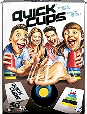 Quick Cups  Match ana Stack Family Game for Kids Aged 6 and Up