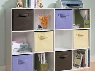 Storage Cube  ClosetMaid Cubeicals 12 Cube Organizer   White