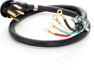 Frigidaire 5304512984 4 ft  40 Amp Range Cord with 4 Wire