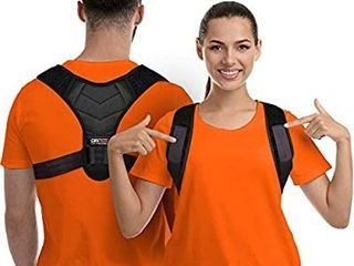 Posture Corrector for Men and Women  Upper Back Brace for Clavicle Support  Adjustable Back Straightener and Providing Pain Relief from Neck  Back   Shoulder   Universal