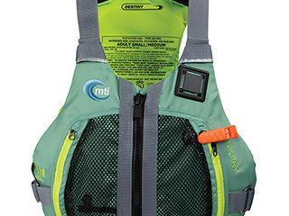 Mti Adventurewear Destiny Personal Flotation Device   Women s Sage sour Apple lg