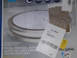 Energetic lighting 14 inch Double Ring led Flush Mount Ceiling light 24w Dimm