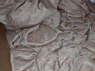 Chill Sack Bean Bag Chair  Giant 5  Memory Foam Furniture Bean Bag   Big Sofa with Soft Faux linen Cover   linen Tan