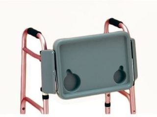 NOVA Walker Tray with Two Cup Holders  Easy Up and Down