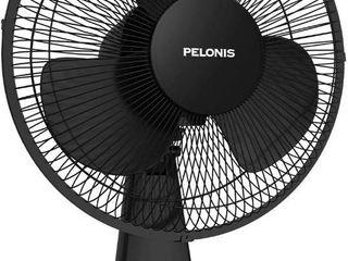 Pelonis Pft30t2abb v Portable 3 speed 12 inch Oscillating Table Air Circulation