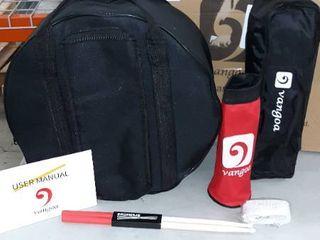 Vangoa Snare Drum Set  Student Snare Drum Kit with Stand  Drum Mute Pad  5A Drum Sticks  Drum Keys  Sticks  14 X 5 5