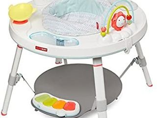 Skip Hop Baby Activity Center  Interactive Play Center with 3 Stage Grow with Me Functionality  4mo  Silver lining Cloud