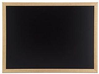 U Brands Chalkboard  17 x 23 Inches  Oak Frame  310U00 01