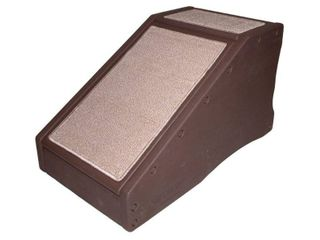 Pet Gear StRamp Pet Stair Ramp Combo for Cats and Dogs  Chocolate