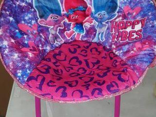 Dreamworks Trolls Saucer Chair Children s