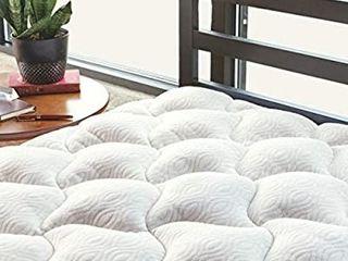 ViscoSoft Copper Mattress Pad Full   Extra Plush Pillowtop Mattress Topper for Pain Relief
