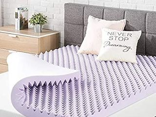Best Price Mattress King Mattress Topper   3 Inch Egg Crate Memory Foam Bed With