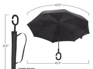 Sharpty Inverted Umbrella  Umbrella Windproof  Reverse Umbrella  Umbrellas for Women with UV Protection  Upside Down Umbrella with C Shaped Handle