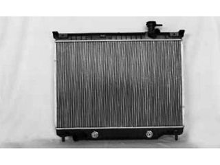 TYC 2458 Compatible with CHEVROlET GMC 1 Row Plastic Aluminum Replacement Radiator