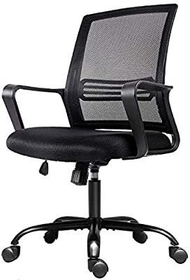 Office Chair  Mesh Office Computer Swivel Desk Task Chair  Ergonomic Executive Chair with Armrests