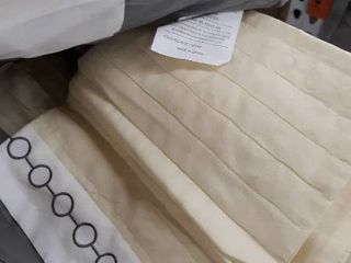 5 Piece Sunshine Yellow Grey White Color Block Bed in A Bag Microfiber Comforter Set Twin Size Bedding  Perfect for Any Bed Room or Guest Room