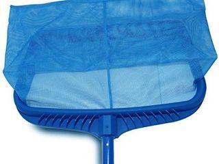 Stargoods Pool Skimmer Net  Heavy Duty leaf Rake Cleaning Tool  Fine Mesh Net Bag Catcher