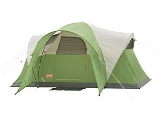 Coleman 8 Person Tent for Camping   Montana Tent with Easy Setup