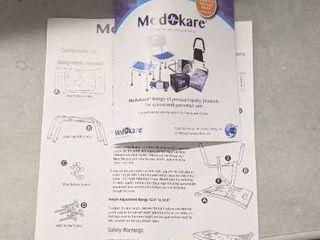 Medokare Shower Stool With Padded Seat   Shower Seat For Seniors