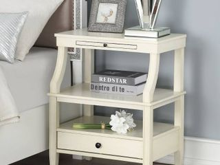 Newport Storage Nightstand by Greyson living  Retail 178 49