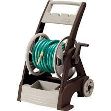Neverleak Plastic 250 ft Cart Hose Reel