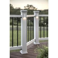 Trex 4 in x 4 in White Composite Deck Post Sleeve
