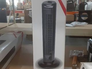 3 Speed Oscillating Indoor Tower Fan lightweight Easy Assembly Space Saver 28 In