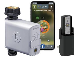 B hyve Smart Hose Watering Timer with Wi Fi Hub