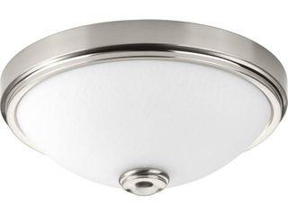 One light 15in lED Glass Flush Mount