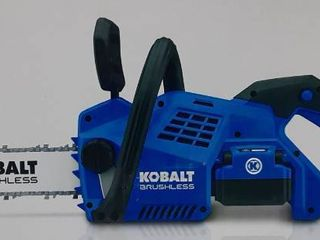 Kobalt Cordless Chainsaw   Battery Charger